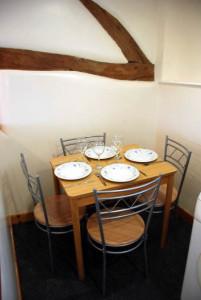 The Granary dining area